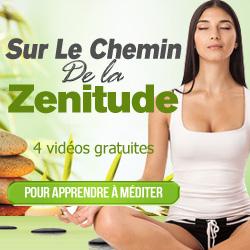 Cliquer sur l'image pour recevoir gratuitement 4 vidéos sur la méditation